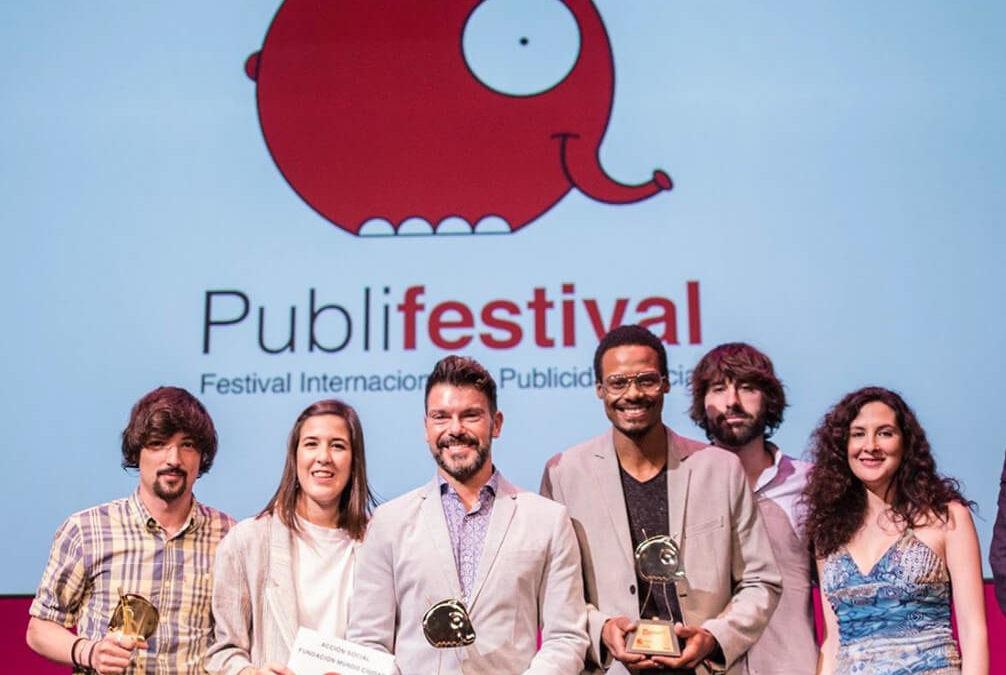 Triple premio a Indira en el Publifestival 2018 por su trabajo para Greenpeace